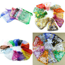4Style Utility Drawstring Organza Gift Bag Wedding Christmas Pouch Delicate Bag