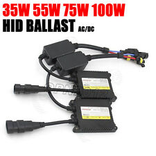 Canbus 35w 55w 75w 100w HID Xenon Ballast Slim Replacement H1 H3 H4 H7 H8 H9 12V