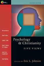 NEW - Psychology & Christianity Five Views - Eric L. Johnson - 2nd Edition 2010