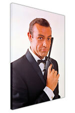 ICONIC 007 JAMES BOND AS SEAN CONNERY ON CANVAS WALL ART PRINTS MOVIE PICTURES