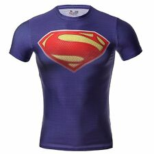 Men's Marvel Superhero Costume T-Shirts Cycling Short Sleeve Tops Bicycle Jersey