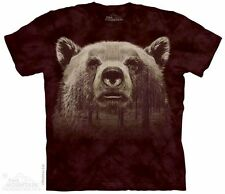 Bear Face Forest T-Shirt from The Mountain - Adult S - 5X