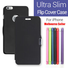 NEW Slim Wallet Credit Flip Leather Pouch Case Cover For Apple iPhone 4S 4