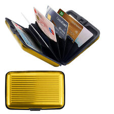 Aluminum Waterproof Wallet Credit Card Holder with RFID Protection Card bag