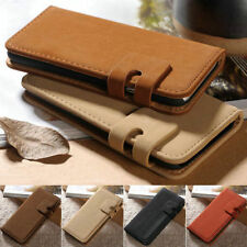Vintage Soft Leather Flip Stand Wallet Case Cover Skin For Samsung iPhone HTC