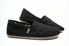 Toms Mens Classic Earthwise Slate Slip-on Shoes 001032A10|SLATE Men's US 8.5