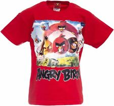 ANGRY BIRDS Red Angry Bird Youth Kids Shirt TShirt High Quality Official