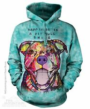 Pit Bull Smile Pullover Hoodie from The Mountain - Sizes Adult S - 2X