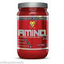 BSN AMINO X - Endurance, Recovery & Growth BCAA'S, Amino Acid *Choose a Flavor*