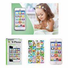 BABY KID EDUCATIONAL Y-PHONE ENGLISH LEARNING MOBILE PHONE TOY IPHONE TOY 4S 5