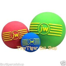 JW Pet Dog Toy ISqueak Ball small medium large Pick your dog's favorite color