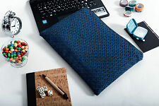 "Blue Padded Sleeve Case Cover Bag for 11"" 12"" 13"" MacBook Air Pro Retina"