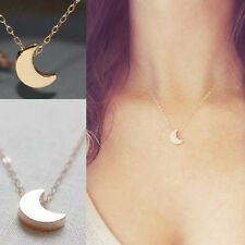 Fashion Necklaces New Copper Chain Gold Silver Moon Star Pendent Moon Necklace