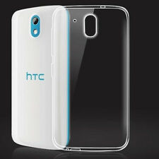 For HTC Desire 526G+ Ultra Thin Clear Transparent Gel skin case cover