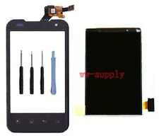 LCD Display+Front Touch Screen Glass lens Digitizer fr LG Optimus 2X P990 P999
