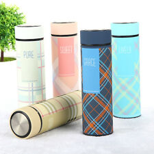 New Stainless Steel Vacuum Flask Thermos Cup Tea Coffee Water Cup Travel Mug