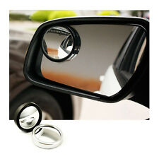 2 PCS Car Mirror Side View Blind Spot & Wide Mirror Auxiliary Rear View Mirror