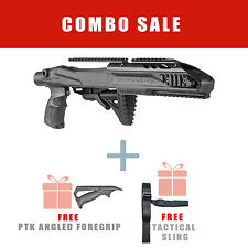 Fab Defense Tactical Stock for Ruger 10/22 w/ Aluminum Rail - R10/22 PRO PTK S