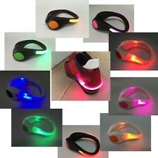 Night Safety Outdoor Sport LED Shoe Clip Bright Light For Running Cycling Bike