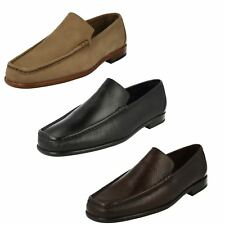 Mens Grenson Slip On Leather Nubuck G Fit Moccasin Formal Shoes Milano 9667