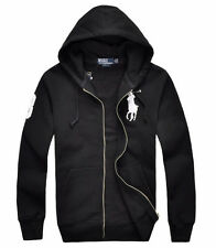 POLO MEN'S HOODIES/HOODY/HOODED GUARD COATS WINTER TRACK JACKET CASUAL PULLOVER