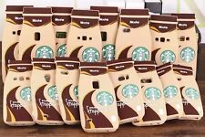 New Starbucks Silicone Coffee Cup Phone Case Cover For iPhone 4 5 6 Plus&Samsung