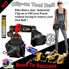 Heavy Duty Tool Belt Nail Bag Storage Utility Pouch Hammer Holder Builders Home