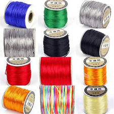 DIY Chinese Knotting Nylon String Beading Bracelet Thread Cord 1mm