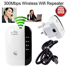 300Mbps Wifi Repeater Wireless N 802.11 AP Range Router Extender Booster AU New