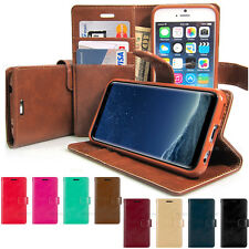 Goospery Diary Flip Book Leather Wallet Case Cover for iPhone 8/Galaxy S/Note/LG