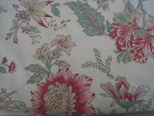 POTTERY BARN FULL / QUEEN MARIE BOTANICAL PALAMPORE DUVET ONLY #139