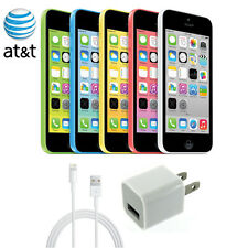 AT&T iPhone 5c 8 16 32 GB Apple Smartphone Clean ESN for At&t only