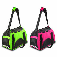 Small Pet Dog Cat Portable Travel Carry Carrier Tote Cage Bag Crates Kennel