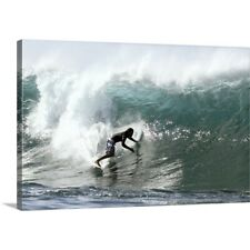 Premium Thick-Wrap Canvas Wall Art entitled Hawaii, Oahu, North Shore, Afternoon