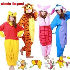 NEW Adult Costume Kigurumi Pajamas Cosplay Winnie The Poot Onesie Pyjamas Disney