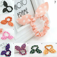 4PCs Cute Lovely Charm Elastic Bow Bunny Ears Hair Rope/String Hair Accessories