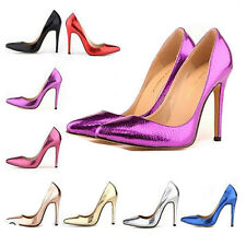 Sexy Ladies Party Prom Dress High Heels Stiletto Pointy Toe Pumps Women's Shoes
