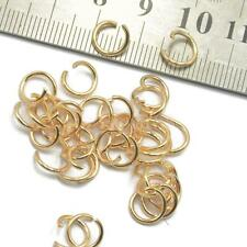 400pcs Metal Open Round Jump Rings DIY Findings Connectors Jewelry Craft Making