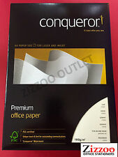 A4 CONQUEROR 100GSM CREAM LAID PAPER - LUXURIOUS QUALITY - CQP0324CRNW - AMAZING