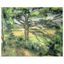 Poster Print Wall Art entitled The Large Pine, 1895 97 (oil on canvas)
