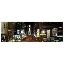 Poster Print Wall Art entitled Times Square at Night New York City NY