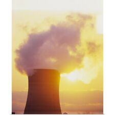Poster Print Wall Art entitled Nuclear Power Plant Three Mile Island PA