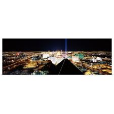 Poster Print Wall Art entitled City from Mandalay Bay Resort and Casino, Las