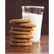Poster Print Wall Art entitled Milk and Cookies
