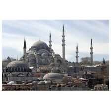 Poster Print Wall Art entitled The Yeni Mosque or New Mosque in Istanbul.