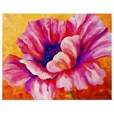 Poster Print Wall Art entitled Pink Poppy