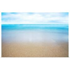 Poster Print Wall Art entitled Hawaii, Oahu, Beautiful Seascape Of The Ocean And