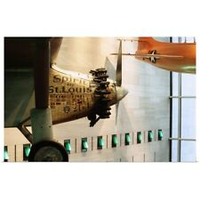 Poster Print Wall Art entitled Spirit of St. Louis airplane in National Air and