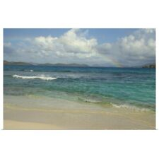 Poster Print Wall Art entitled Caribbean, US Virgin Islands, St.Thomas, St. John