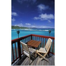 Poster Print Wall Art entitled Caribbean, French West Indies, St. Barthelemy